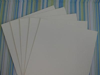 Milk White Textured Card 240gsm A4 or A5 Cardmaking Scrapbooking Arts & Crafts