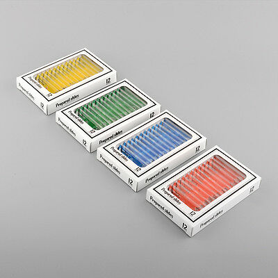 48pcs Various Insects Plastic Prepared Microscope Slides 4 boxs Children