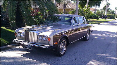 Rolls-Royce : Other Bentley T II 1979 bentley t ii shadow two owner well maintained car new tires and service
