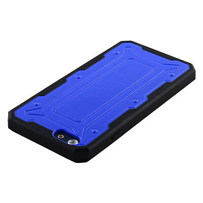 NEW for APPLE iPhone 6 BLUE Transformer SKIN ACCESSORY HYBRID COVER CASE