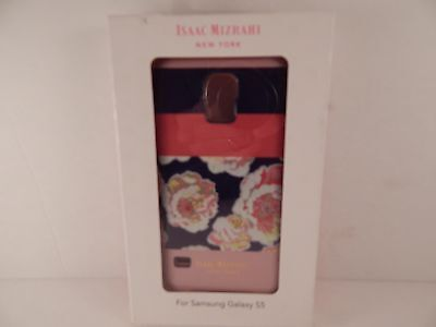 NEW Isaac Mizrahi New York Case for Samsung Galaxy S5 Cell Phone Floral CO8923