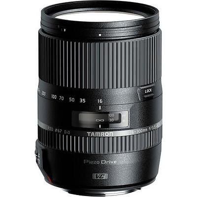Tamron 16-300mm f/3.5-6.3 Di II VC PZD Lens for Canon + UV Filter & Cleaning Kit