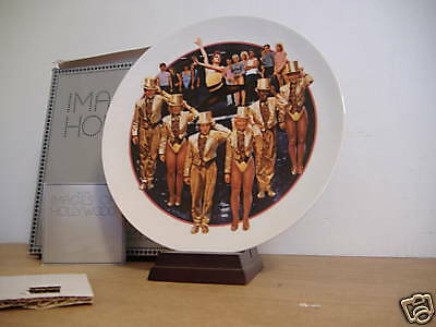 ~A Chorus Line~Avon Collector Plate~With Musical Stand~