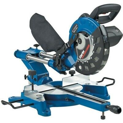 "Clarke 10"" Sliding Compound Mitre Saw (254mm). Electric chop saw CMS10S2"