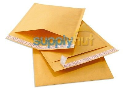 """400 #000 4x8 Kraft Paper Bubble Padded Envelopes Mailers Shipping Case 4""""x8"""""""