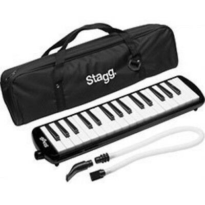 Stagg Melodica - 32 Keys & Mouthpiece MELOSTA32 Plastic Melodica Reed Keyboard