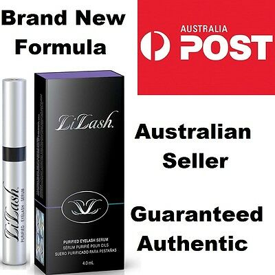 LiLash Purified EYELASH SERUM JUMBO 6 MONTH SIZE (4ml) Sealed In Box READ INSIDE