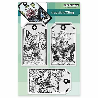 Penny Black 40-340 Decorative Rubber Stamps Etched Branches