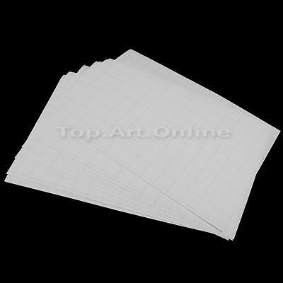 10 Sheets T-shirt Cloth Printing A4 Iron On Inkjet Heat Transfer Paper White