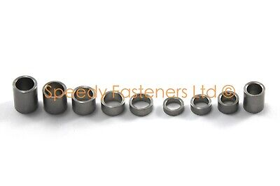 Stainless Steel Spacers Collars Standoffs Select m5 m6 2mm 3mm 4mm 6mm 8mm 10mm