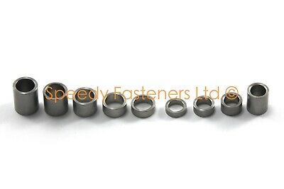 Stainless Steel Spacers Collars Standoffs m5 m6 2mm 3mm 4mm 6mm 8mm 10mm 20mm