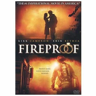 Fireproof (DVD, 2009) Erin Bethea, Kirk Cameron NEW and Sealed