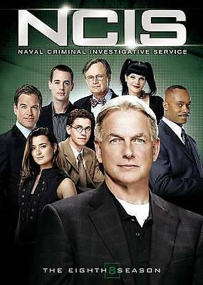 NCIS: The Eighth Season - DVD - 2011 - 6-Disc Set - DVDs are MINT - Cover is VG