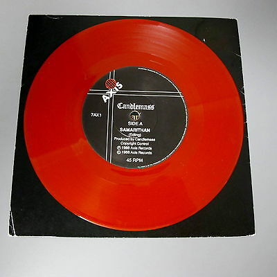 Candlemass Samarithan Red Vinyl Single with picture sleeve Doom Metal