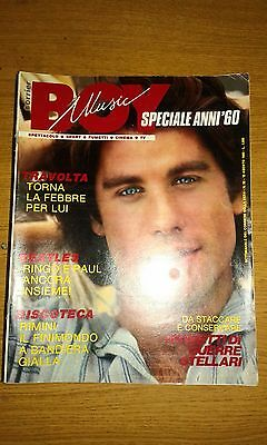 Corrier Boy Music # 32-Travolta-Beatles-Fumetti Guerre Stellari-Star Wars-1983