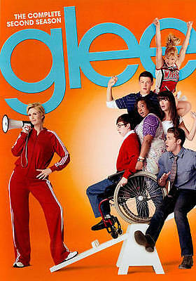 Glee: The Complete Second Season (DVD, 2011, 6-Disc Set) Free Shipping