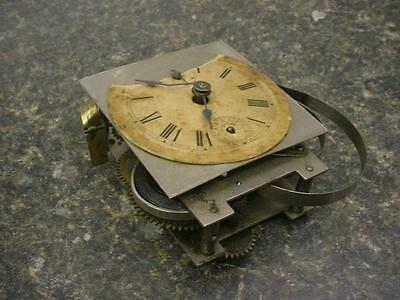 Crescent B Chrome Plated Carriage Clock Alarm and Dial Movement S-F Adjust E436