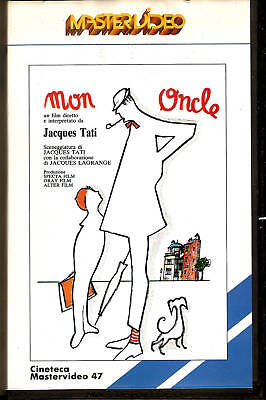 MON ONCLE  (1958) -   VHS Mastervideo Jacques TATI