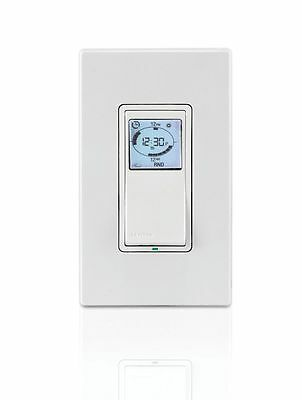 Leviton VPT24-1PZ Vizia 24-Hour Programmable Indoor Timr with Astronomicl Clock