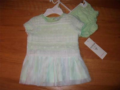 GUESS DRESS W/PANTY FOR BABY GIRLS SIZE 3-6 MONTHS NWT^