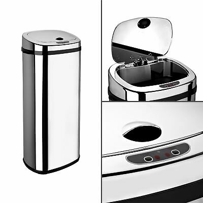 Dihl 30L 42L 50L Origin Rectangle Chrome Sensor Kitchen Waste Dust Bin Automatic