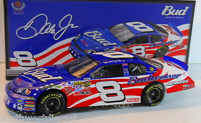Dale Earnhardt Jr 2007 Motorsports Authentics 1/24 #8 Budweiser Stars & Stripes