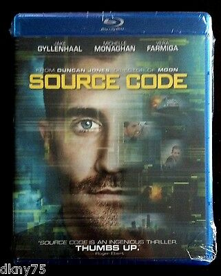 Source Code (Blu-ray Disc, 2011) Brand New and Factory Sealed!