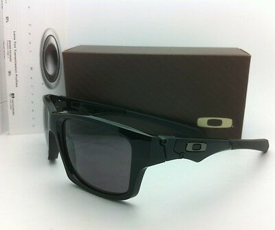 Authentic Oakley Sunglasses JUPITER SQUARED OO9135-01 Polished Black w/Grey Lens