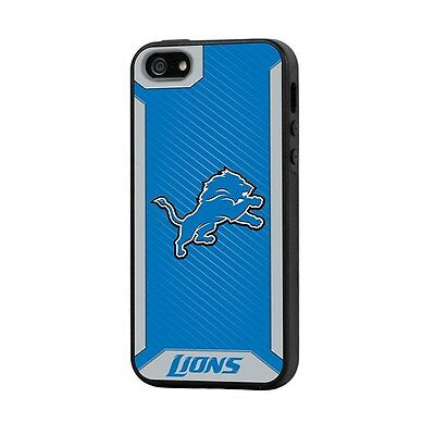 DETROIT LIONS iPHONE 5 Rugged 2 Piece Phone Case  NFL Licensed