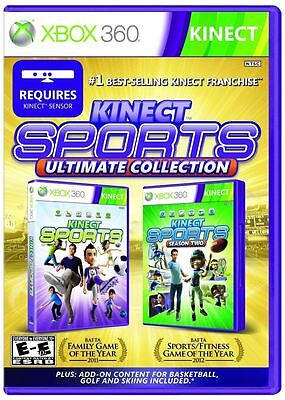 Kinect Sports Ultimate Collection  (Xbox 360, 2012)