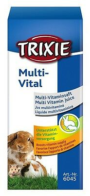 Multi Vitamin Supplement Drops for Rabbits Guinea Pigs Hamsters Rats Mice TRIXIE