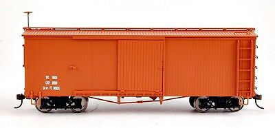 Bachmann On30 Scale Train Box Car Mineral Red Data Only 27098