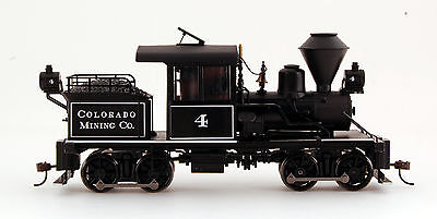Bachmann On30 Scale Train Stearns-Heisler DCC Equipped Colorado Mining Co. 28801