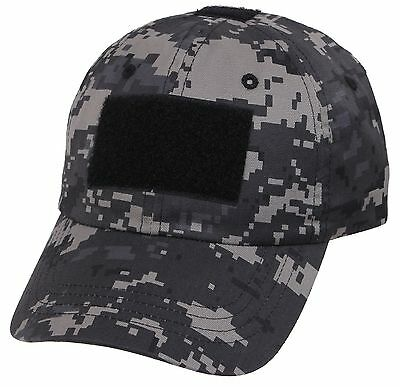 Subdued Urban Digital Camouflage Tactical Operator Cap - Patch Area  Baseball Hat 273c6845654d
