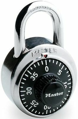 Master Combination Lock - Double Armored Stainless Steel Body & Shackle 1500D