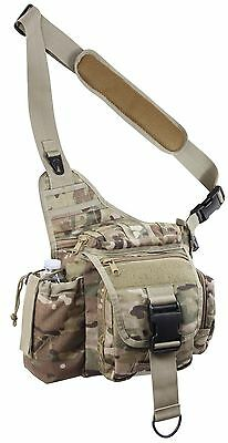 Rothco Outdoor MultiCam Camouflage Advanced Tactical Shoulder Bag