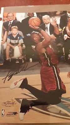 Dwayne Wade signed autographed 8x10.COA rookie signature