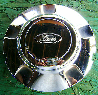 1 Cap 98 99 00 01 02 FORD EXPEDITION F150 CHROME CENTER CAP P/N: XL14-1A096-AA
