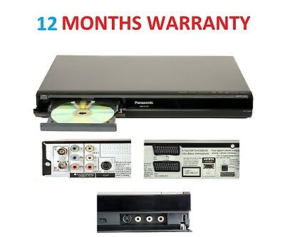 Panasonic MultiRegion DMR-EX769 DVD HDD Recorder 160GB Freeview PVR +HDMI Cable