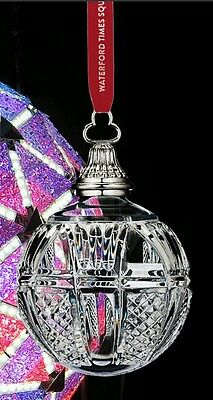 New ▪ 2015 Waterford Crystal Times Square Ball Ornament isThe Gift of Fortitude