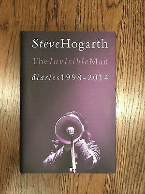 Steve Hogarth (Marillion) The Invisible Man Diaries, vol. 2 - Signed, 252/1,000