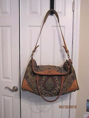 HARTMANN FLORAL FIRE TAPESTRY WEEKEND DUFFLE CARRY ON TOTE BAG SUITCASE LUGGAGE
