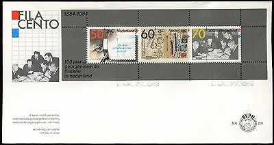 Netherlands 1984 Philately M/S FDC First Day Cover #C20281