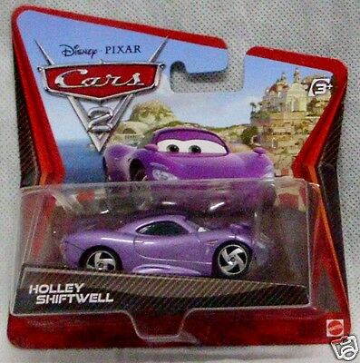 Disney Pixar Cars 2~~ HOLLEY SHIFTWELL ~~ Diecast Toy Vehicle-NEW in Package!