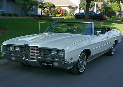 Ford : Galaxie LTD CONVERTIBLE - A/C - 74K MILES LOW MILE SUMMER DROP TOP CRUISER  -1971 Ford LTD  Convertible -  74K MILES