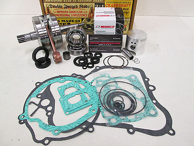 Yamaha Yz 125 Engine Rebuild Kit Crankshaft, Wiseco Piston, Gaskets 2002-2004