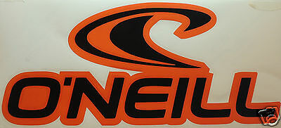 LARGE 2 COLOUR ONEILL STICKER/DECAL Watersports/Surfing/Kite Surfing/