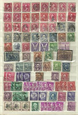 United States US from classics to modern some better perfin etc stamp collection