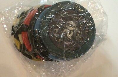 """Fallout New Vegas Collector's Edition """"Lucky 7 Poker Chips"""" COMPLETE SEALED MINT"""