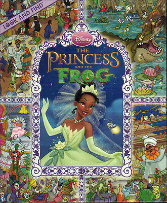 The Princess and the Frog LOOK AND FIND New TIANA Naveen KISS Disney CAJUN